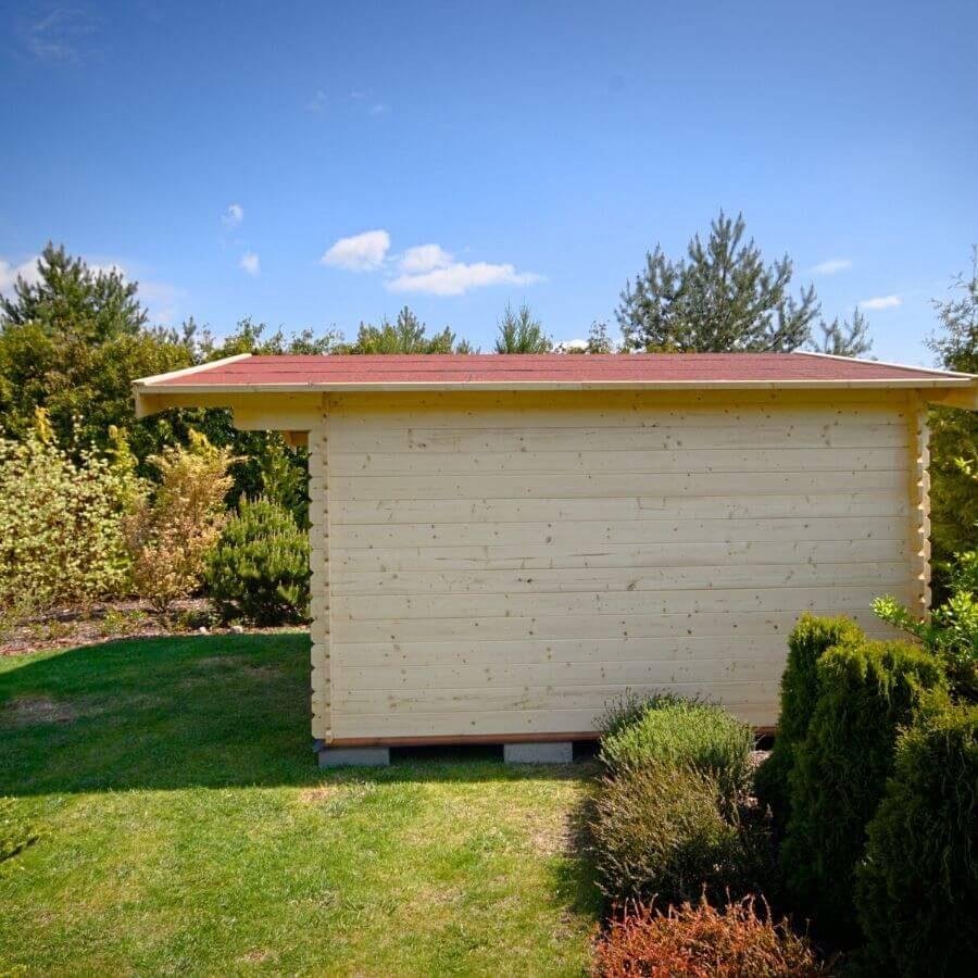 domek drewniany 4x5
