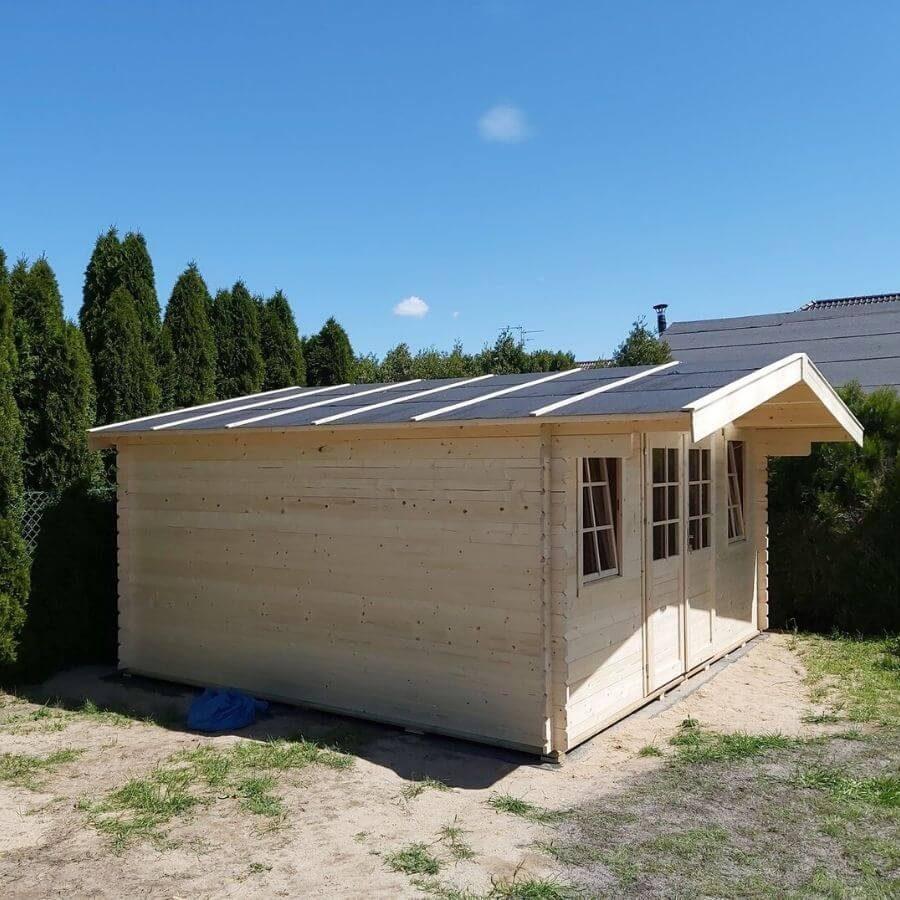 domek drewniany poznań