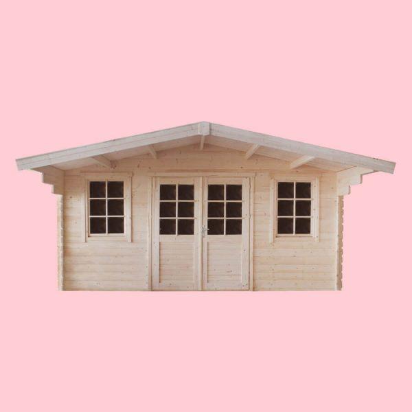 Domek ogrodowy 15790-P 4,74×4,14×2,51h