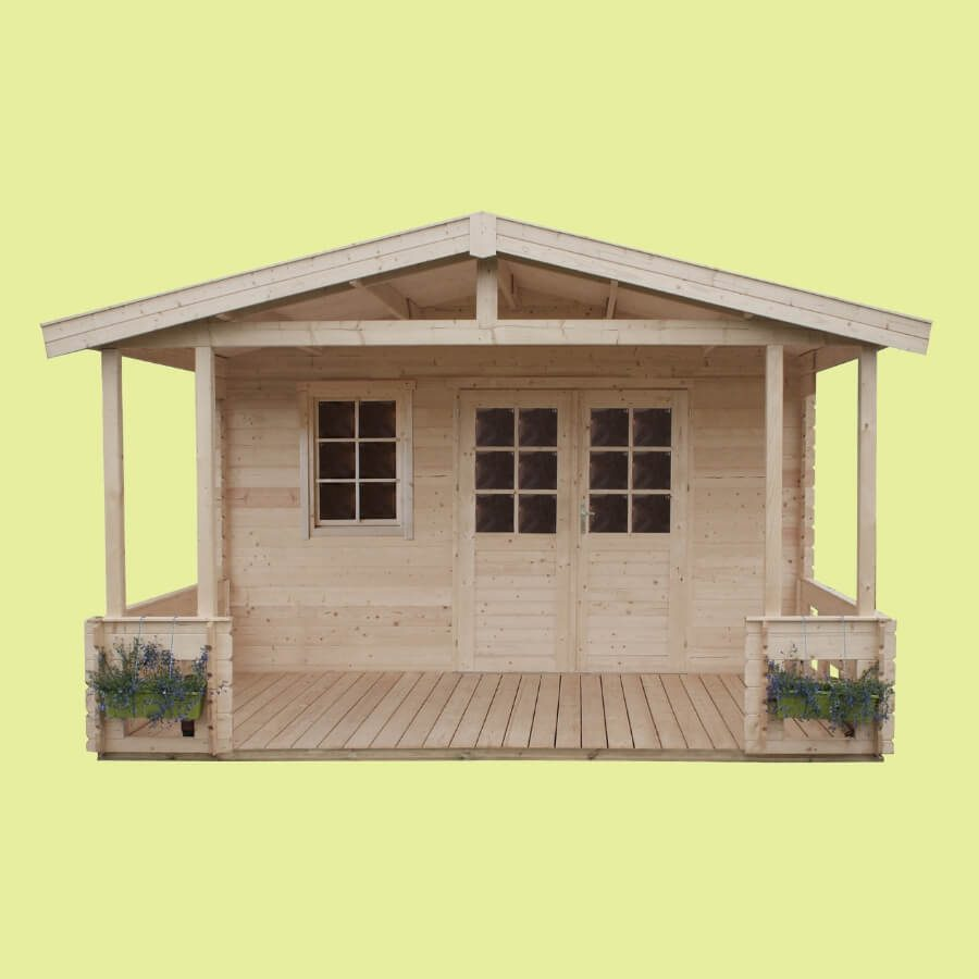 Domek z tarasem
