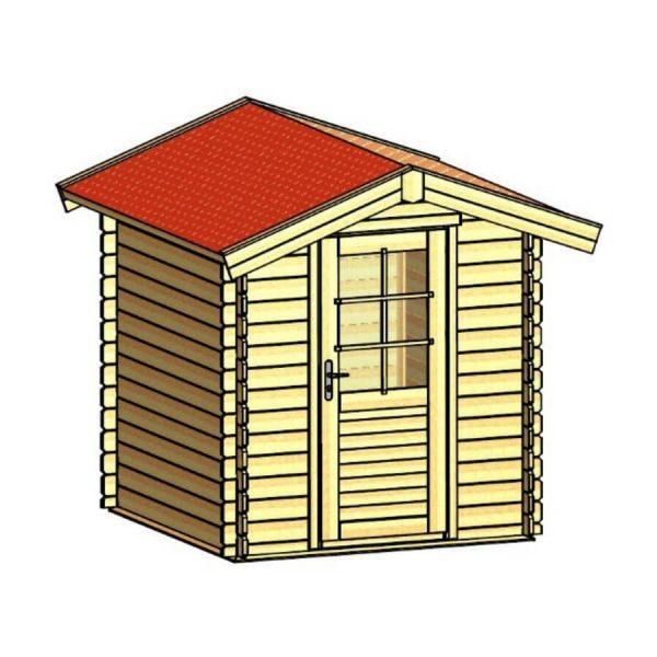 Domek ogrodowy 15710-P 2,04×2,04×2,38h