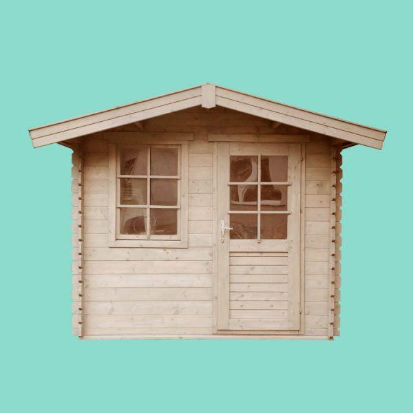 Domek ogrodowy 15720-P 2,64×2,04×2,38h