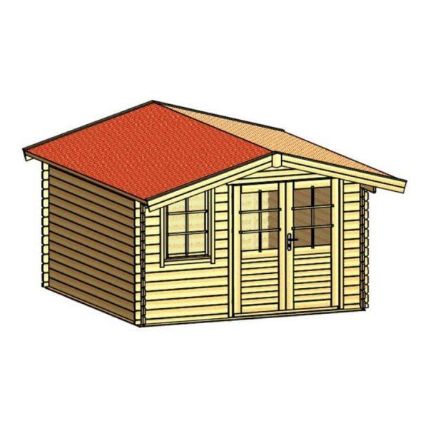 Domek ogrodowy 15750-P 3,54×3,54×2,51h