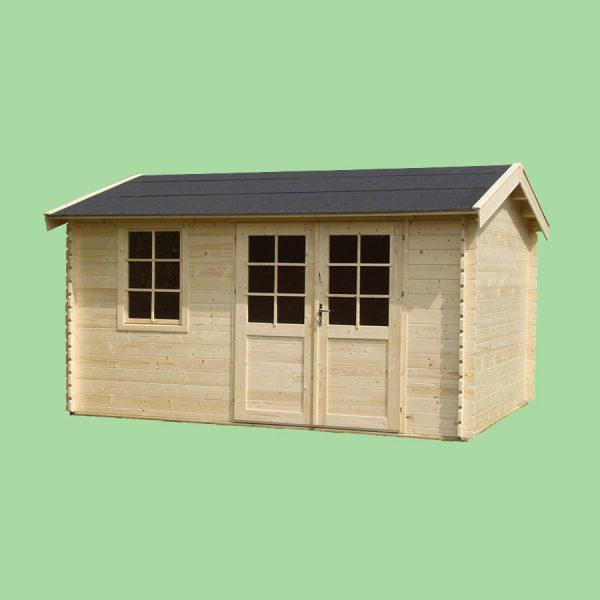 Domek ogrodowy 15660-P 4,14×3,54×2,57h